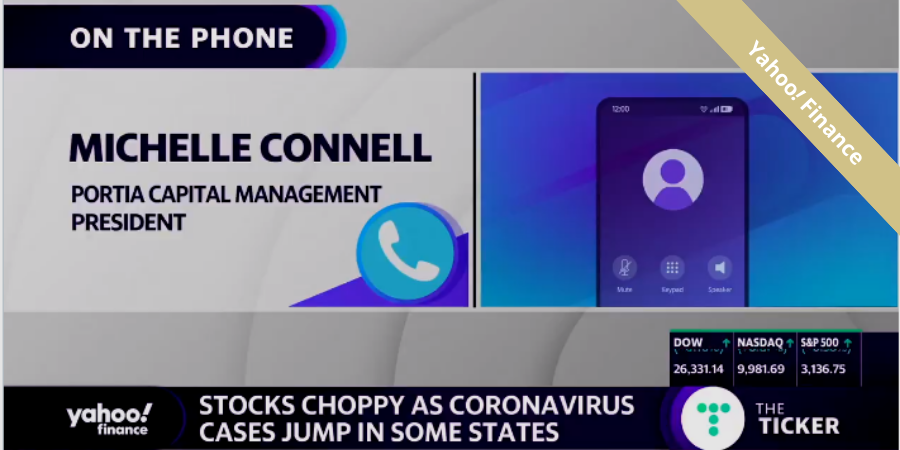 Michelle Connell, CFA interviewed by Yahoo Finance