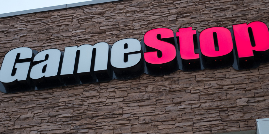 picture of a GameStop store