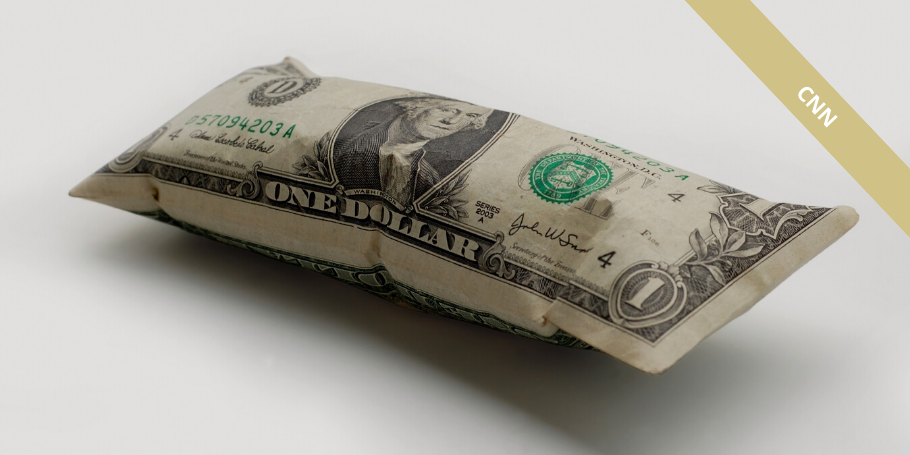 inflated dollar bill